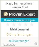 Erfahrungen & Bewertungen zu Haus Sonnenschein Bremen Nord