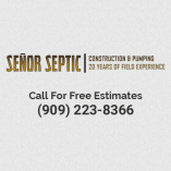 Señor Septic Construction & Pumping