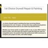 1st choice drywall repair and paint