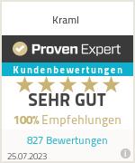 Erfahrungen & Bewertungen zu Kraml