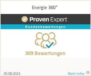 Erfahrungen & Bewertungen zu Energie 360°