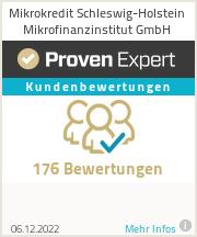 Erfahrungen & Bewertungen zu Mikrokredit Schleswig-Holstein Mikrofinanzinstitut GmbH