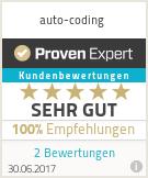 Erfahrungen & Bewertungen zu auto-coding