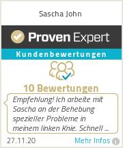 Erfahrungen & Bewertungen zu Sascha John