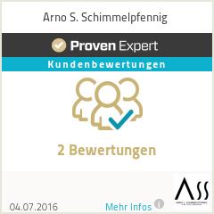Erfahrungen & Bewertungen zu Arno S. Schimmelpfennig