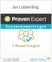 Erfahrungen & Bewertungen zu Jan Lübberding
