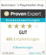 Erfahrungen & Bewertungen zu Buchmann´s Playerkarten Shop