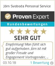 Erfahrungen & Bewertungen zu Jörn Svoboda Personal Service