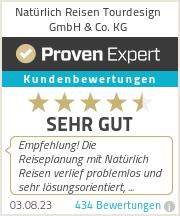 Erfahrungen & Bewertungen zu Natürlich Reisen Tourdesign GmbH & Co. KG