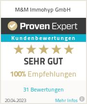 Erfahrungen & Bewertungen zu M&M Immohyp GmbH