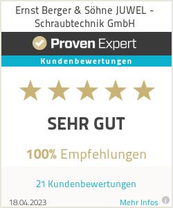 Erfahrungen & Bewertungen zu Ernst Berger & Söhne JUWEL - Schraubtechnik GmbH