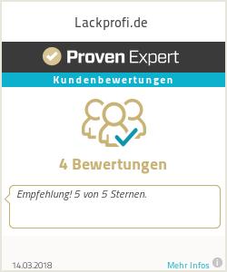 Erfahrungen & Bewertungen zu Lackprofi.de
