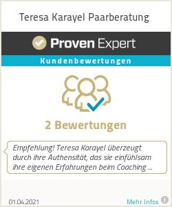 Erfahrungen & Bewertungen zu Teresa Karayel Paarberatung