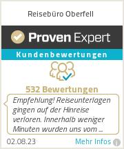 Erfahrungen & Bewertungen zu Reisebüro Oberfell