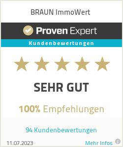 Erfahrungen & Bewertungen zu BRAUN ImmoWert