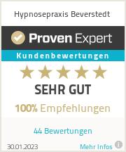 Erfahrungen & Bewertungen zu Hypnosepraxis Beverstedt