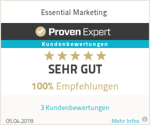 Erfahrungen & Bewertungen zu Essential Marketing