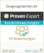 Erfahrungen & Bewertungen zu Zeugnisgutachten.de
