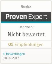 ProvenExpert-Profil von Gordax anzeigen