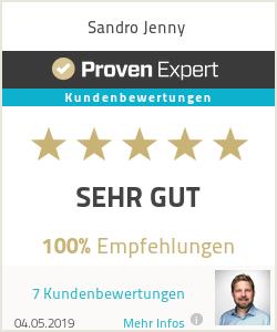 Erfahrungen & Bewertungen zu Sandro Jenny