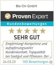 Erfahrungen & Bewertungen zu Bio Chi GmbH