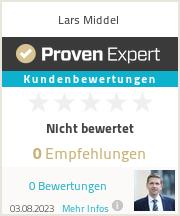 Erfahrungen & Bewertungen zu Lars Middel