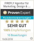 Erfahrungen & Bewertungen zu FIREFLY Agentur für Marketing, Design & Medien
