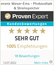 Erfahrungen & Bewertungen zu enerix Weser-Ems - Photovoltaik & Stromspeicher