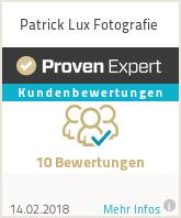 Erfahrungen & Bewertungen zu Patrick Lux Fotografie