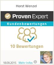 Erfahrungen & Bewertungen zu Horst Wenzel