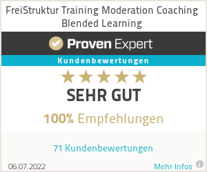 Erfahrungen & Bewertungen zu FreiStruktur Training Moderation Coaching Blended Learning