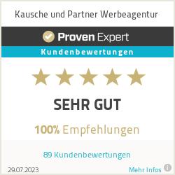 Erfahrungen & Bewertungen zu Kausche und Partner Werbeagentur