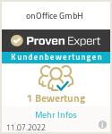 Erfahrungen & Bewertungen zu onOffice GmbH