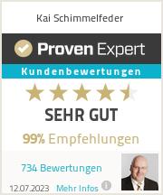 Erfahrungen & Bewertungen zu Kai Schimmelfeder