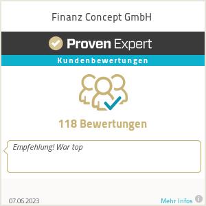 Erfahrungen & Bewertungen zu Finanz Concept GmbH