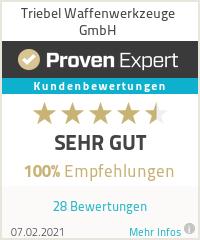 Erfahrungen & Bewertungen zu Triebel Waffenwerkzeuge GmbH