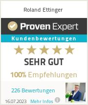 Erfahrungen & Bewertungen zu Roland Ettinger