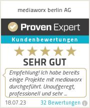 Erfahrungen & Bewertungen zu mediaworx berlin AG