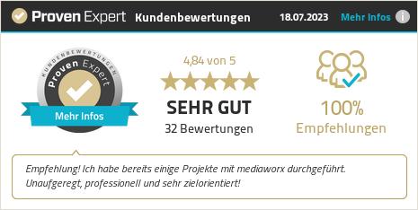 Kundenbewertungen & Erfahrungen zu mediaworx berlin AG. Mehr Infos anzeigen.