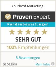 Erfahrungen & Bewertungen zu Yourbest Marketing