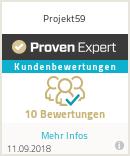 Erfahrungen & Bewertungen zu Projekt59