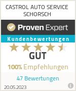 Erfahrungen & Bewertungen zu CASTROL AUTO SERVICE SCHORSCH