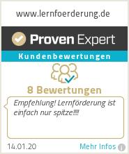 Erfahrungen & Bewertungen zu www.lernfoerderung.de