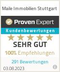 Erfahrungen & Bewertungen zu Maile Immobilien Stuttgart