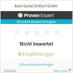 Erfahrungen & Bewertungen zu Auto Genial Einfach GmbH