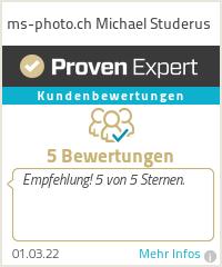 Erfahrungen & Bewertungen zu ms-photo.ch Michael Studerus