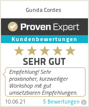Erfahrungen & Bewertungen zu Gunda Cordes