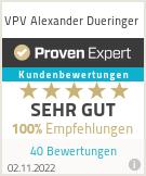 Erfahrungen & Bewertungen zu VPV Alexander Dueringer