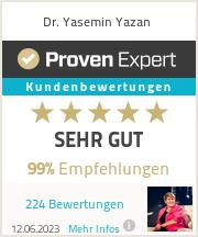 Erfahrungen & Bewertungen zu Yasemin Yazan