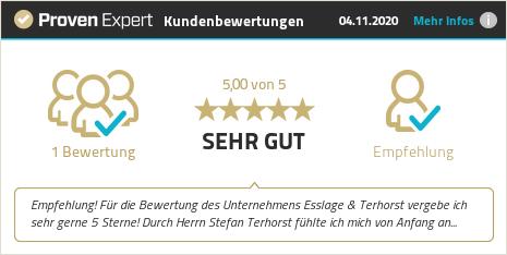 Erfahrungen & Bewertungen zu Esslage & Terhorst anzeigen
